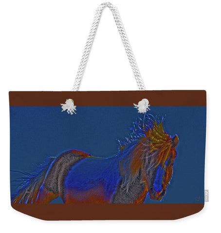 Blue Stallion Weekender Tote bag