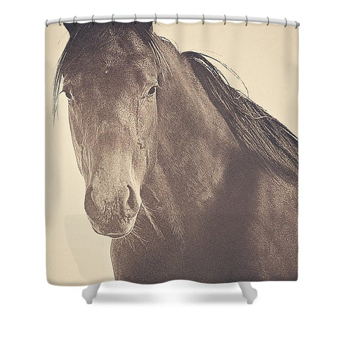 Brazen and Bold Shower Curtain