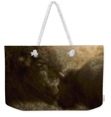 Buffalo Love Weekender Tote bag