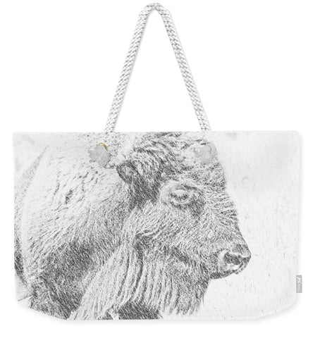 Buffalo Blizzard Weekender Tote bag