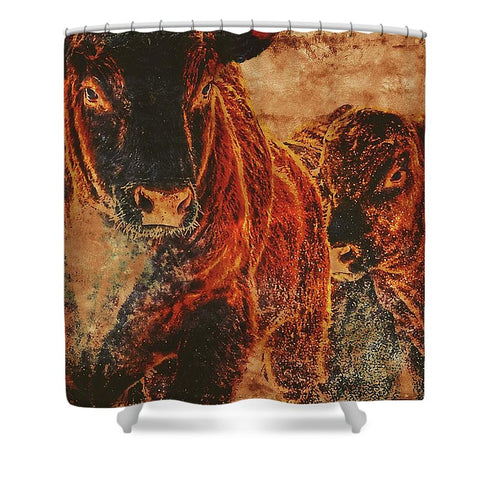 BullTime Shower Curtain