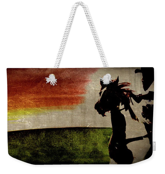 Burning Daylight Weekender Tote bag