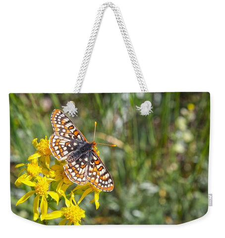 Butterfly in Aspen Weekender Tote bag