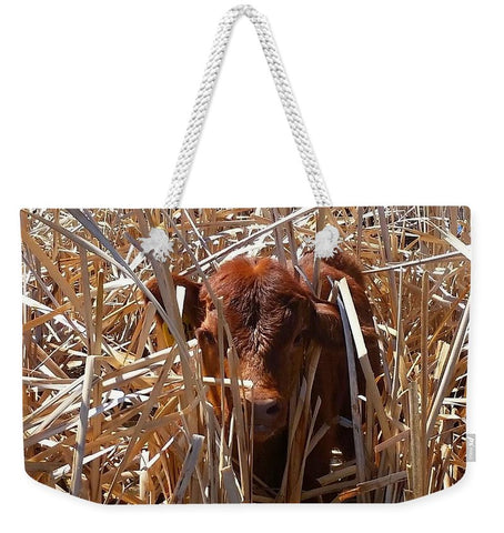 Calftails Cattails Weekender Tote bag