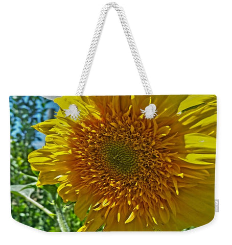 Candy Tuft Sunflower Weekender Tote bag