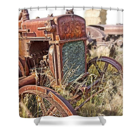 Case and Bales Shower Curtain