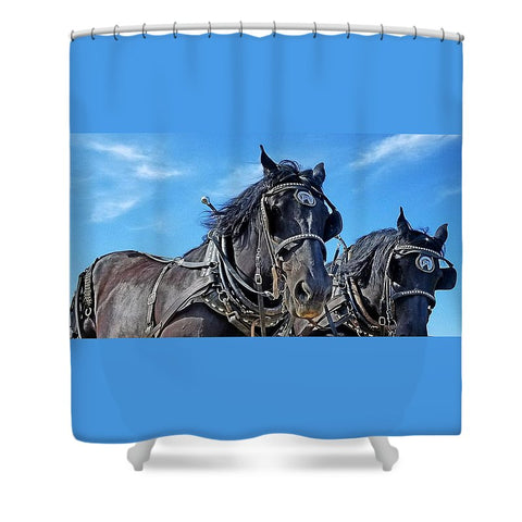 Ceremonious Shower Curtain