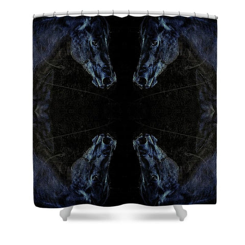 Cirque De Soul Horse Shower Curtain