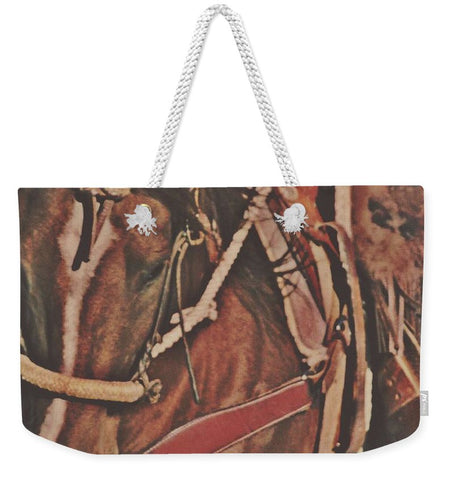 Cotton Rope and Bosal Weekender Tote bag