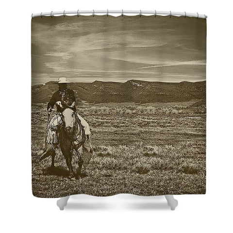 Cowboy Ride Shower Curtain