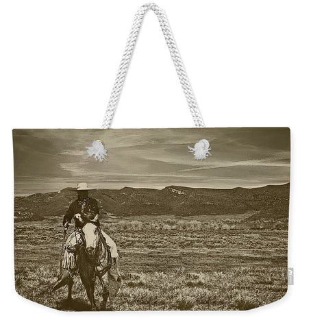Cowboy Ride Weekender Tote bag