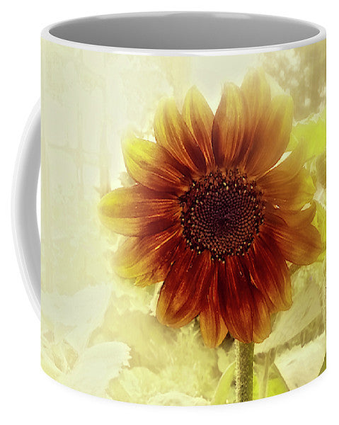 Dusty Retro Sunflower Mug