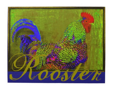 Rooster Puzzle 11x14