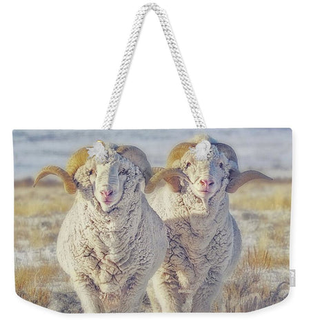Double the Ram Power Weekender Tote bag