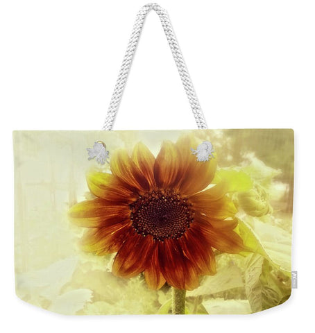 Dusty Retro Sunflower Weekender Tote bag