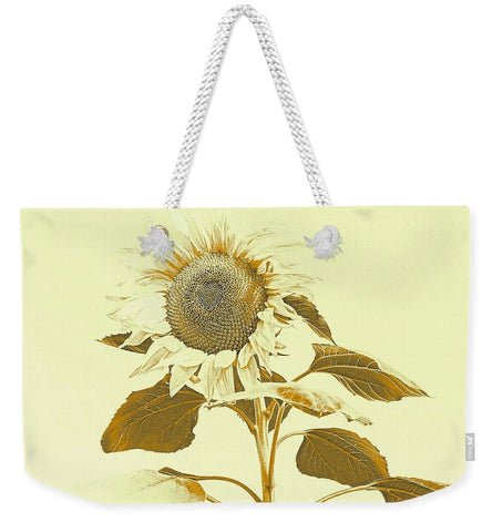 Golden Rayed Weekender Tote bag