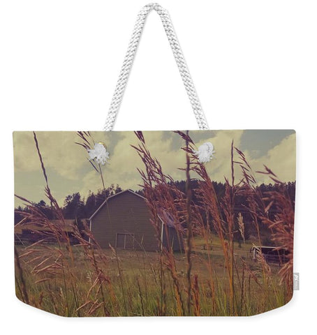 Green Acres Weekender Tote bag