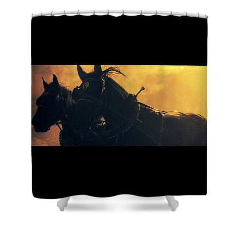 Harvest Drive Shower Curtain