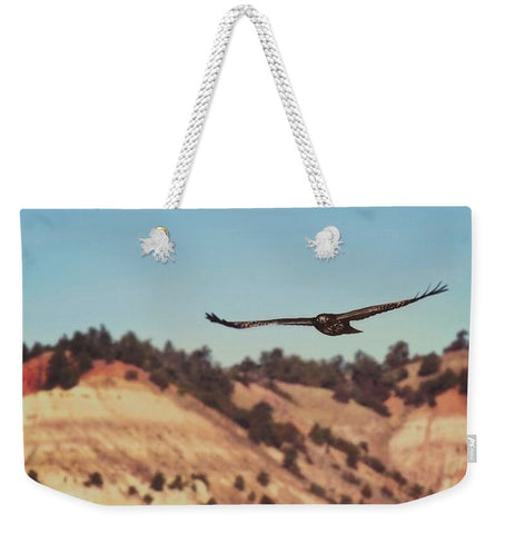 Have You Never Seen A Hawk on The Wing Weekender Tote bag