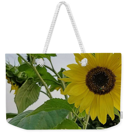 Hello Yellow Weekender Tote bag