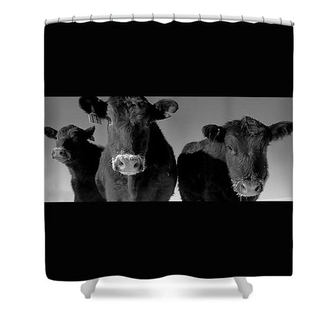 Here's Looking at You Kid Shower Curtain