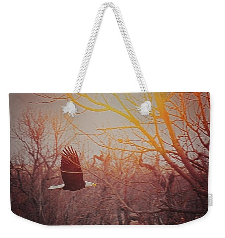 Home By Sunset Weekender Tote bag