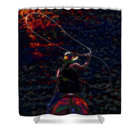 Hot Flash Shower Curtain