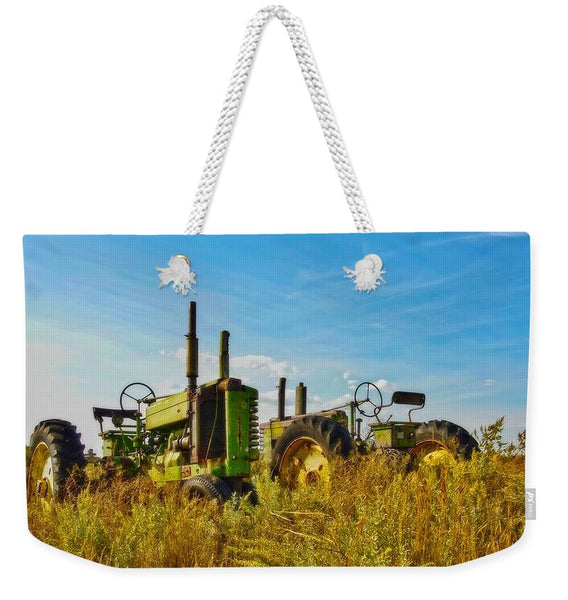 John Deere Two Weekender Tote bag