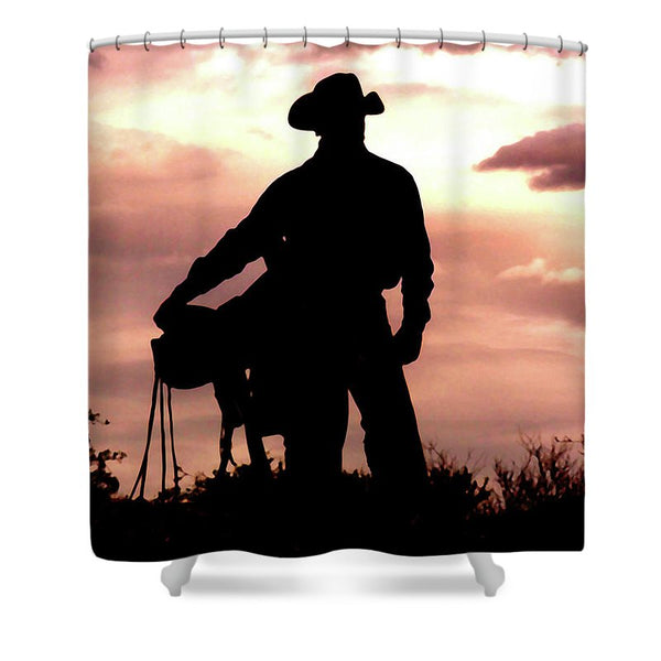 Leaving Wickenburg Shower Curtain