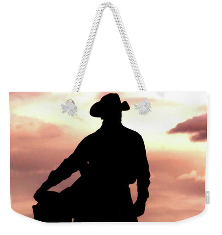 Leaving Wickenburg Weekender Tote bag