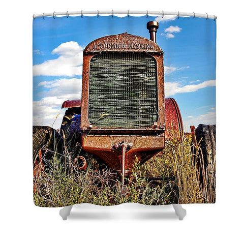McCormick-Deering Shower Curtain