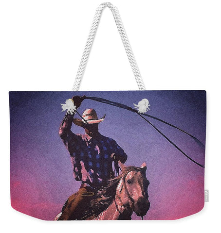 Midnight Cowboy Weekender Tote bag