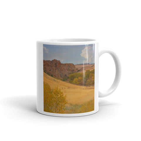 Powder River Fence Mug