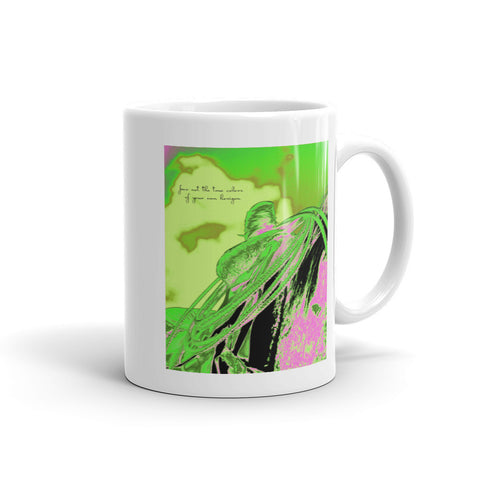 Saddle Electric Pink Quote Mug