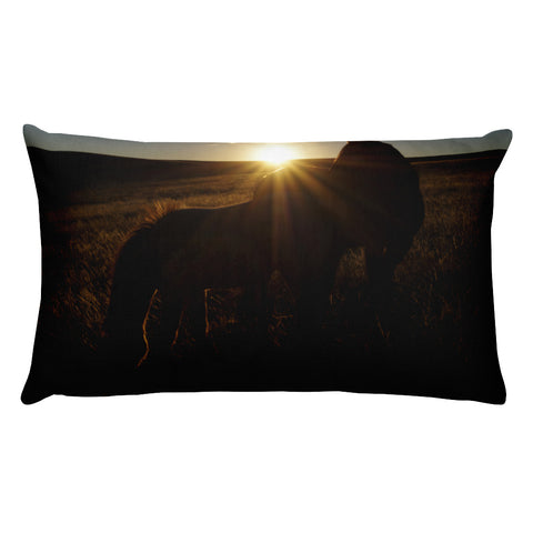 Sunset Love Rectangular Pillow