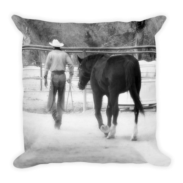 Hour by Hour I Place my Days in Your Hands Throw Pillow