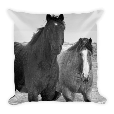 Coated Curiosity Throw Pillow