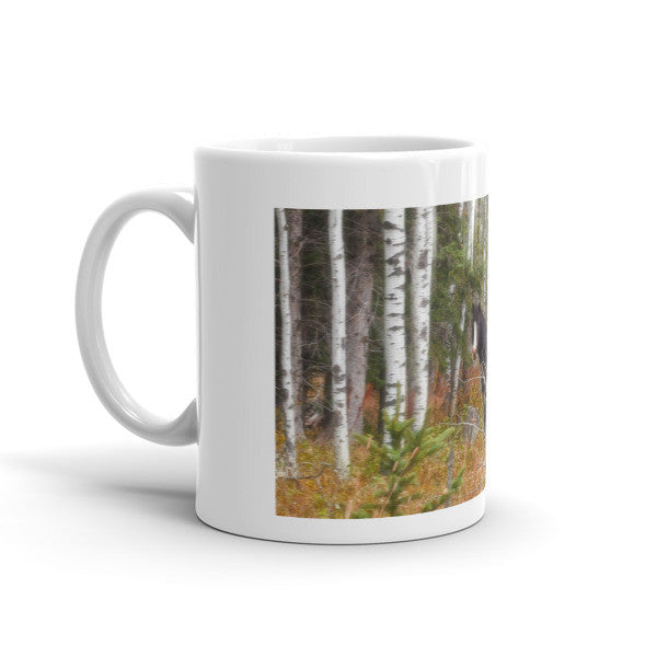 Black and White in Aspen Mug