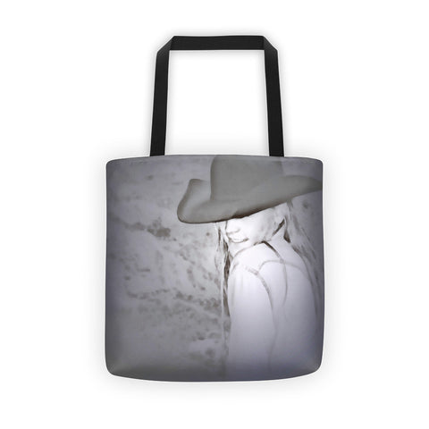 Rainy Day Cowgirl Tote bag