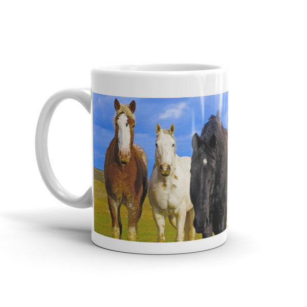 The Four Musketeers Horses Mug
