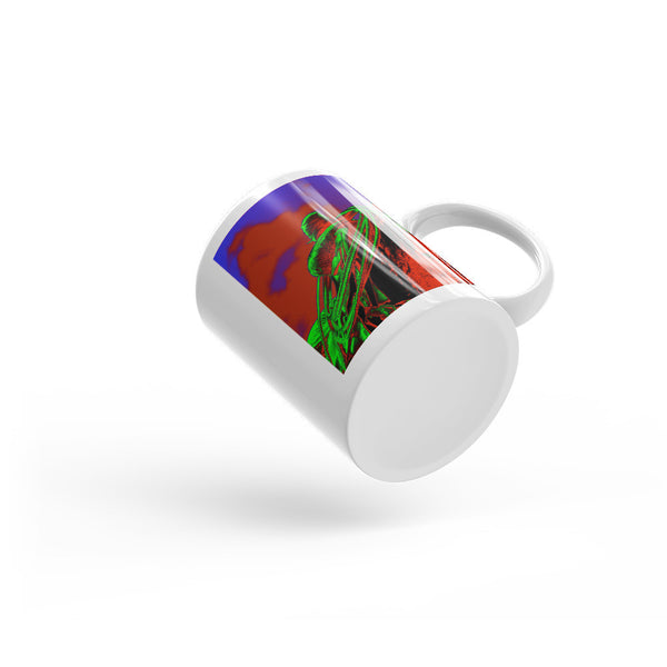Saddle Electric Red Mug
