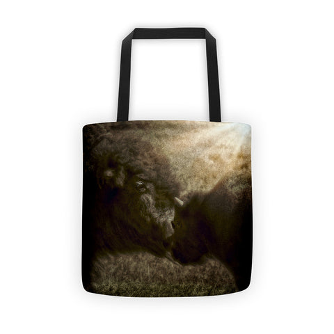 Buffalo Love Tote bag