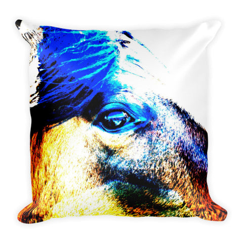 Mustang Sally Throw Pillow