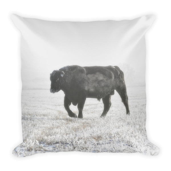 Quietly Majestic Throw Pillow