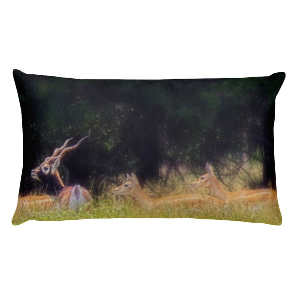 A Buck and a Show Rectangular Pillow