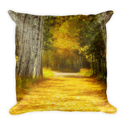 Say You'll Follow Me Throw Pillow
