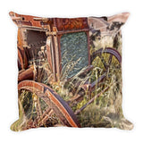 Case and Bales Throw Pillow