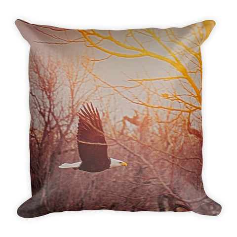 Home By Sunset Throw Pillow