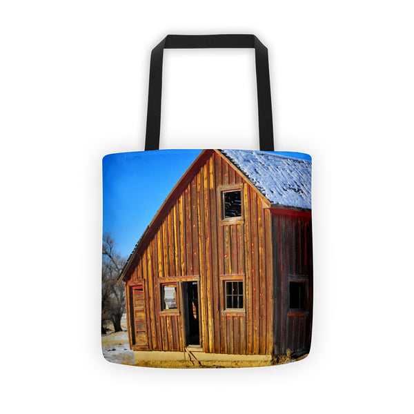 Sunset Barn Tote bag