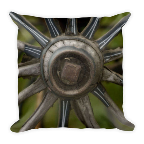 Center Of The West Throw Pillow